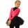 боди+лосины+юбка-пачка черная+малиновое балеро+чехлы боковой передний вид главная