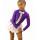 термоплатье бантик фиолетовое с белым вид спереди2к