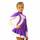 термоплатье керриган фиолетовое с белым боковой передний вид главная