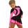 термоплатье керриган черно-розовое боковой передний вид главная