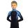 термокомбинезон аксель на мальчика синий с голубым  передний вид главная