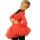 боди+лосины+юбка-пачка красная+красное болеро+чехлы задний вид главная