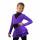 комплект (боди с рюшью,юбка,болеро,лосины)фиолетовый вид спереди главная