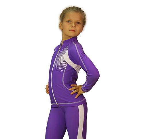 термокомплект ойлер фиолетовый с белым боковой передний вид