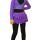 боди+лосины+юбка бабочка фиолетовая+ болеро фиолетовое+чехлы передний   вид
