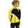 комплект сплит желтый с черным и белым передний вид главная