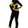термокомплект бауэр черный желтый белый задний  вид