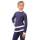 тембинезон с юбочкой серо-голубой темный с белым боковой передний вид2