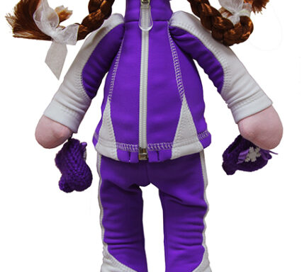 кукла в костюме бреккет фиолетовый