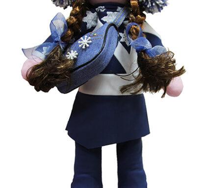 кукла в костюме пируэт