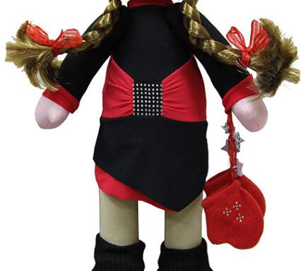 кукла в платье восточное2