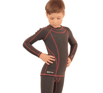 термобелье на мальчика темно-серый меланж передний вид аватар