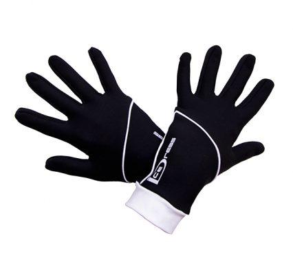 термоперчатки IceDress черные с белым2